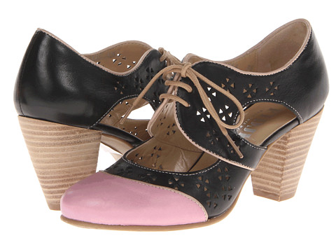 Fidji - L466 (Pink/Black/Taupe) High Heels