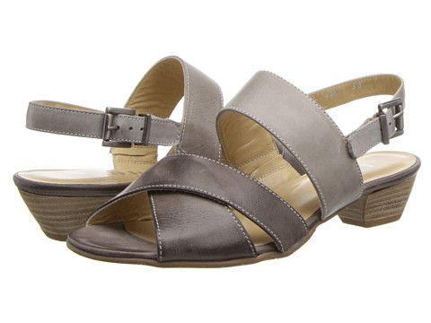 Fidji - L489 (Brown/Taupe) Women's 1-2 inch heel Shoes