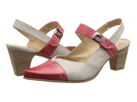 Fidji - L535 (Red/Ivory) High Heels