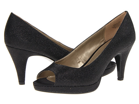 Bandolino - Mylah (Black Glamour Fabric) High Heels