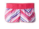 Nike Kids Pattern W Short (Little Kids/Big Kids) (Vivid Pink/White)