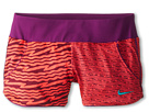 Nike Kids Sport Knit 3 GFX 1 Short (Little Kids/Big Kids) (Laser Crimson/Bright Grape/Turbo Green)