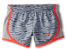Nike Kids Tempo GFX Short (Little Kids/Big Kids) (Wolf Grey/Wolf Grey/Laser Crimson)