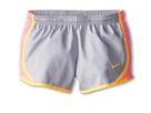 Nike Kids Tempo Short (Little Kids/Big Kids) (Wolf Grey/Pink Glow/Atomic Mango)
