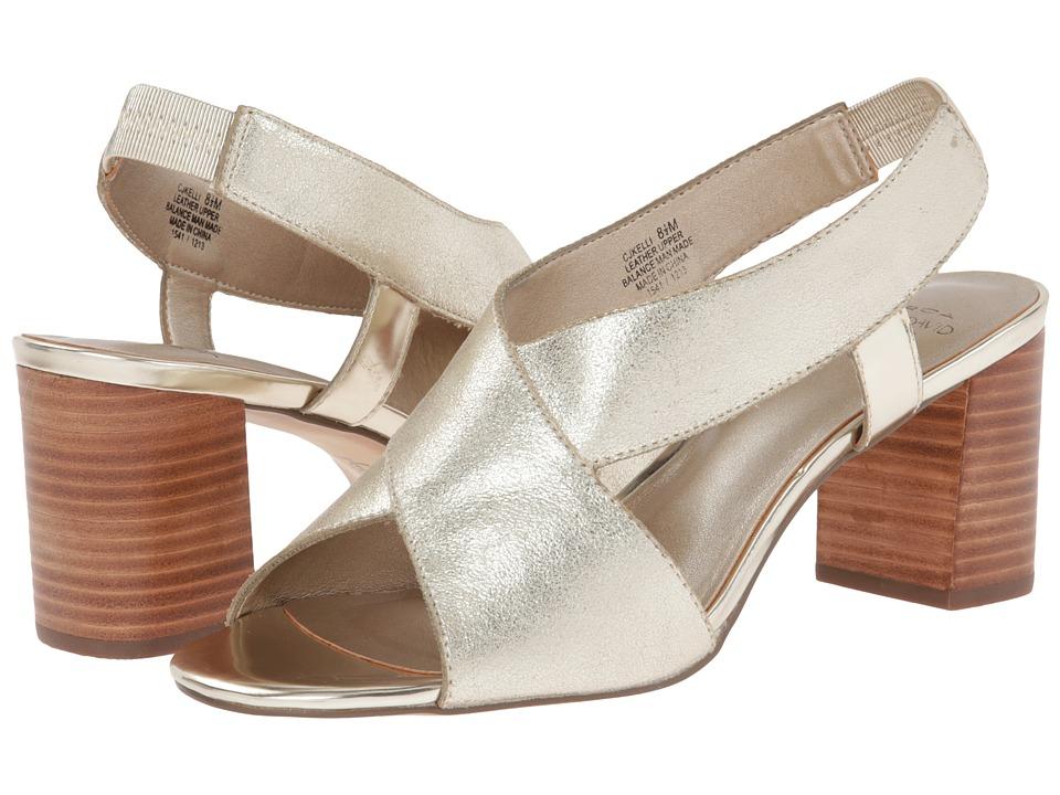 Circa Joan & David - Kelli (Champagne Gold) High Heels