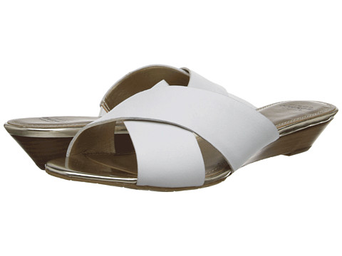 Circa Joan & David - Feliciti (White) Women's Slide Shoes
