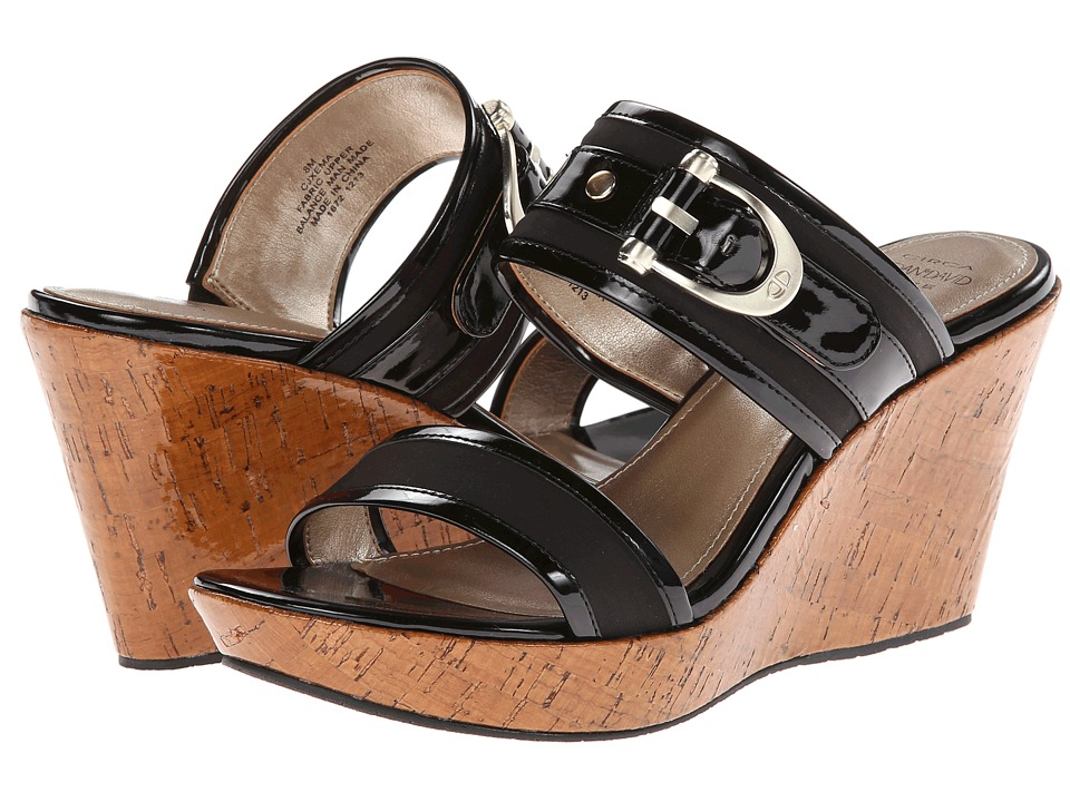 Circa Joan & David - Xema (Black FB) Women's Slide Shoes