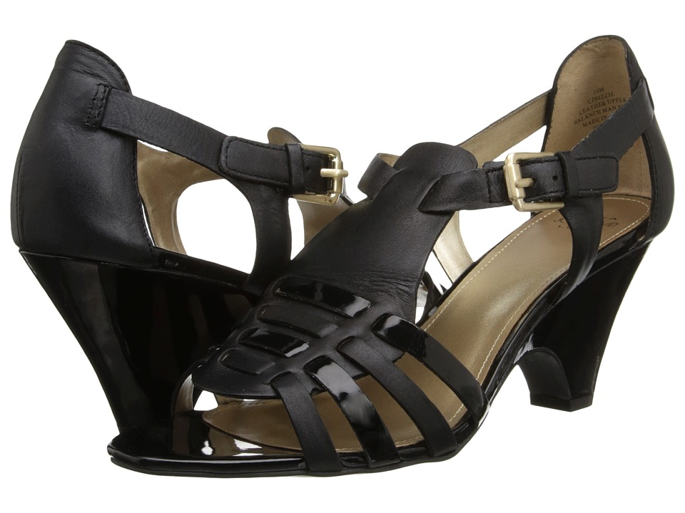 Circa Joan & David - Nizzie (Black) Women's Sandals