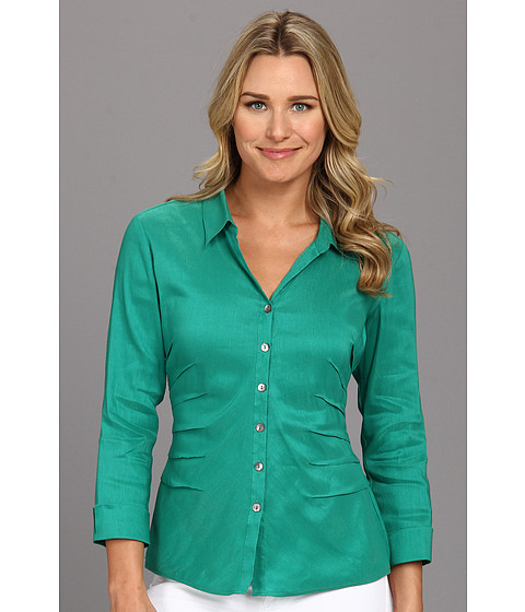 NIC+ZOE - Side Ruched Shirt (Terrace) Women
