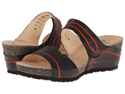 Think! - Zilli Damen - 82322 (Black/Kombi) Women's Sandals