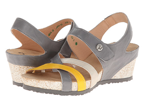 Think! - Zilli Damen - 82325 (Alu/Kombi (+Sonne+Shell)) Women's Sandals