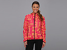 Reebok Reebok Series One Woven Jacket (Candy Pink/Neon Orange) Women's Coat