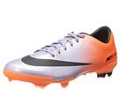 Nike Kids Jr Mercurial Vapor IX FG (Little Kid/Big Kid) (Metallic Purple/Orange)