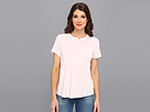 Nydj Pleat Back Knit Top Powder Pink Apparel