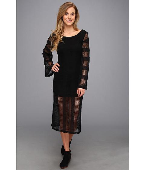 RVCA - Arbuckle Maxi Dress (Black) Women's Dress