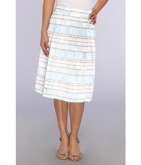 Pendleton - Petite Boulevard Skirt (Lake Blue Plaid Print) Women's Skirt