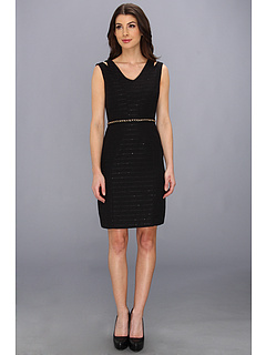 SALE! $61.99 - Save $76 on Tahari by ASL Kristal Dress (Black) Apparel - 55.08% OFF $138.00