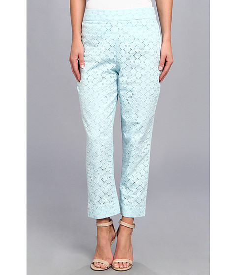 Pendleton - Eyelet Capri (Lake Blue Eyelet) Women