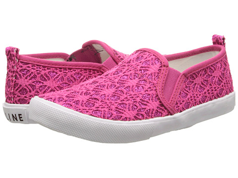 Amiana - 6-A0864 (Toddler/Little Kid/Big Kid/Adult) (Fuchsia Glitter Lace) Girls Shoes