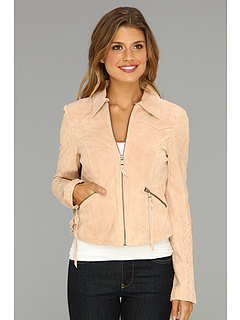 SALE! $149.99 - Save $430 on Sam Edelman Suede Fringed Jacket (Peach Melba) Apparel - 74.14% OFF $580.00