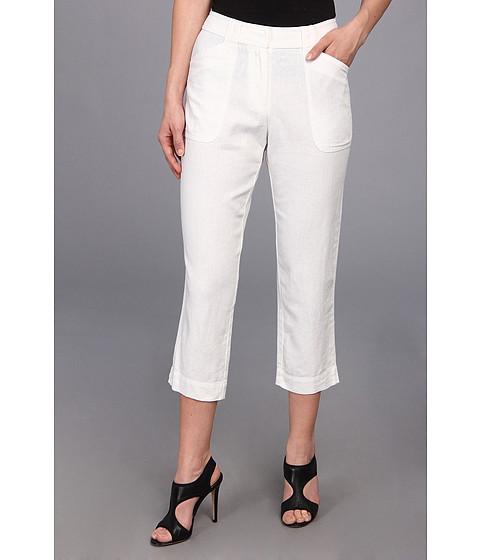 Pendleton - Petite Tradewind Capri (White Linen Blend) Women