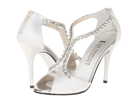 E! Live from the Red Carpet - Nadine (White N. Satin) Women's Dress Sandals