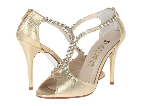 E! Live from the Red Carpet - Nadine (Gold Lame) Women's Dress Sandals
