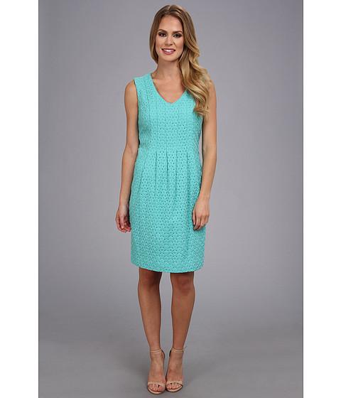 Pendleton - Eyelet Dress (Aqua Sky Eyelet) Women's Dress