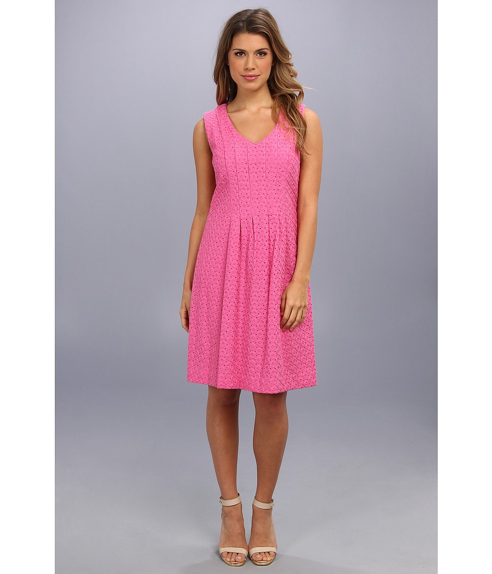 Pendleton - Eyelet Dress (Ibis Rose Eyelet) Women's Dress