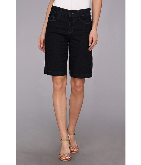 NYDJ - Debby Short in Dark Enzyme (Dark Enzyme) Women