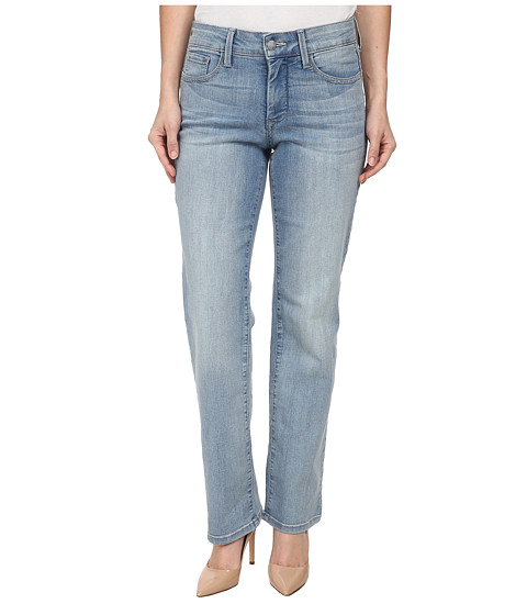 NYDJ Petite - Petite Marilyn Straight in Manhattan Beach (Manhattan Beach) Women's Jeans