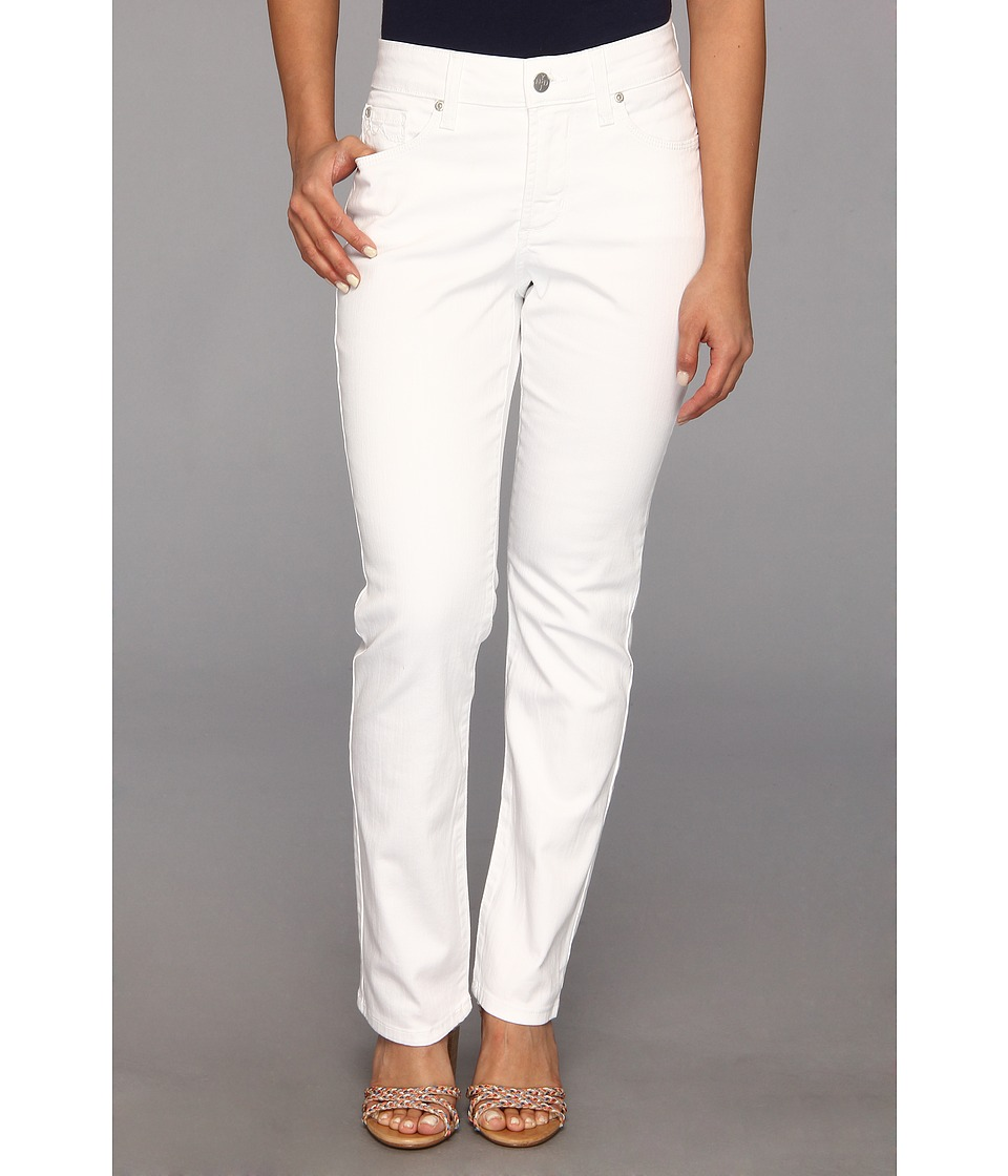 NYDJ Petite - Petite Sheri Skinny Jean (Optic White) Women