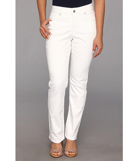 NYDJ Petite - Petite Sheri Skinny Jean (Optic White) Women