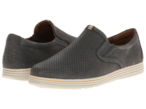 Dunham - Craig-Dun Slip On (Navy) Men's Slip on Shoes