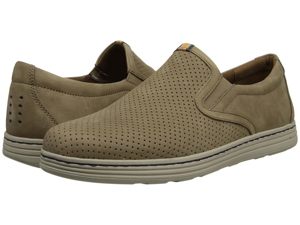 Dunham - Craig-Dun Slip On (Taupe) Men's Slip on Shoes