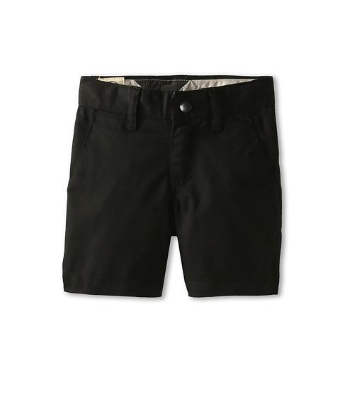 Volcom Kids - Frickin Modern Stretch Short (Toddler/Little Kids) (Black) Boy's Shorts