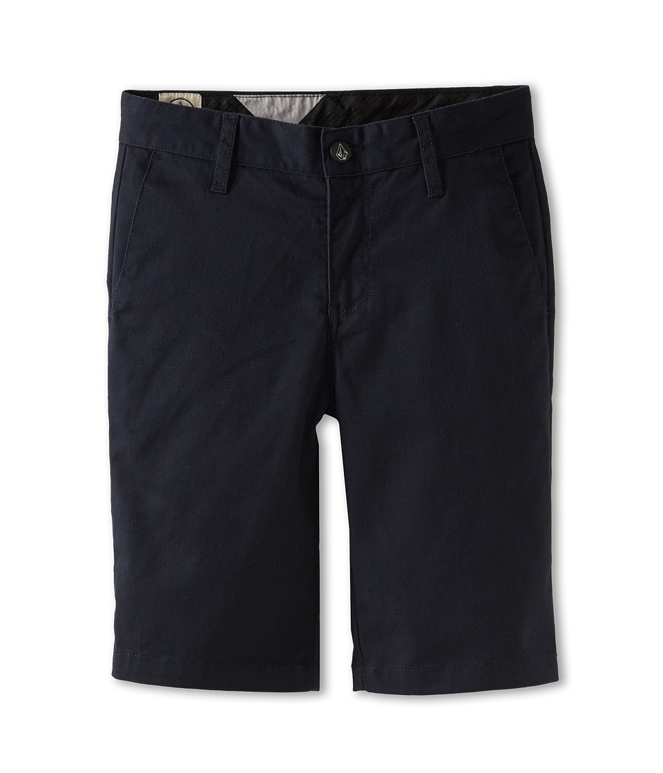 Volcom Kids - Frickin Modern Stretch Short (Big Kids) (Dark Navy) Boy's Shorts