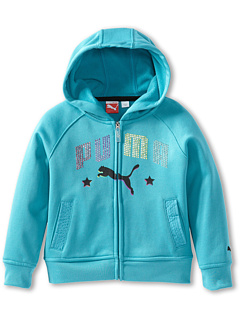 SALE! $19.8 - Save $24 on Puma Kids Studded PUMA Hoodie (Big Kids) (Blue Bird) Apparel - 55.00% OFF $44.00
