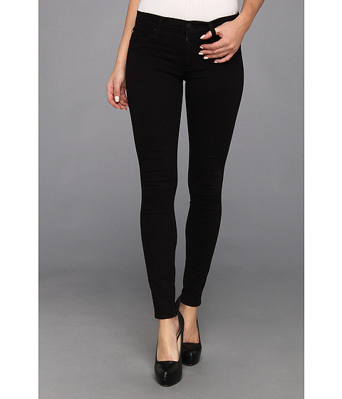 Hudson - Krista Super Skinny in Black (Black) Women