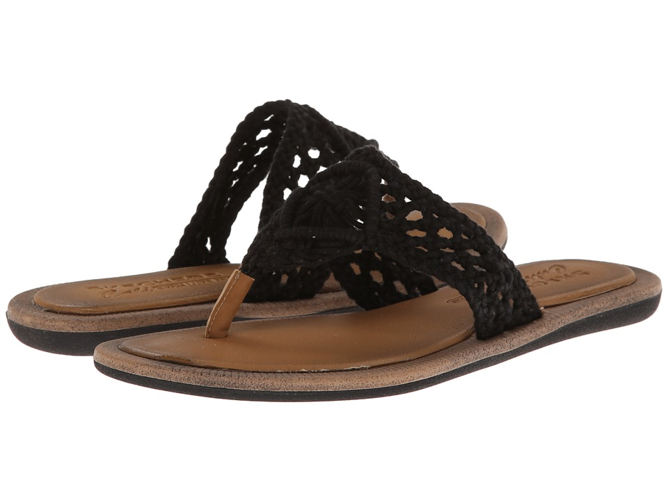SKECHERS - Indulge - Earth Baby (Black) Women's Sandals