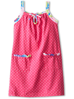 SALE! $14.99 - Save $18 on le top Lexi s Dot Sundress with Trim (Infant Toddler Little Kids) (Raspberry) Apparel - 54.58% OFF $33.00