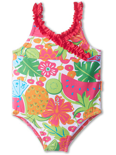 SALE! $14.99 - Save $18 on le top Aloha! Swimsuit with V Neck Ruching (Infant) (Watermelon Pink) Apparel - 54.58% OFF $33.00