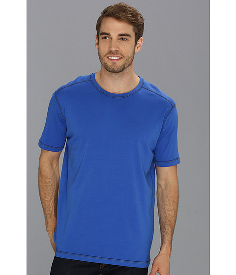 Agave Denim - R. August S/S Crew (Dazzling Blue) Men's T Shirt