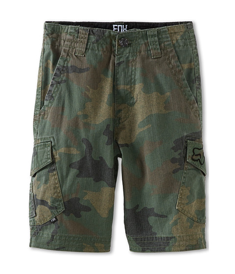 Fox Kids - Slambozo Camo Short (Big Kids) (Green Camo) Boy's Shorts