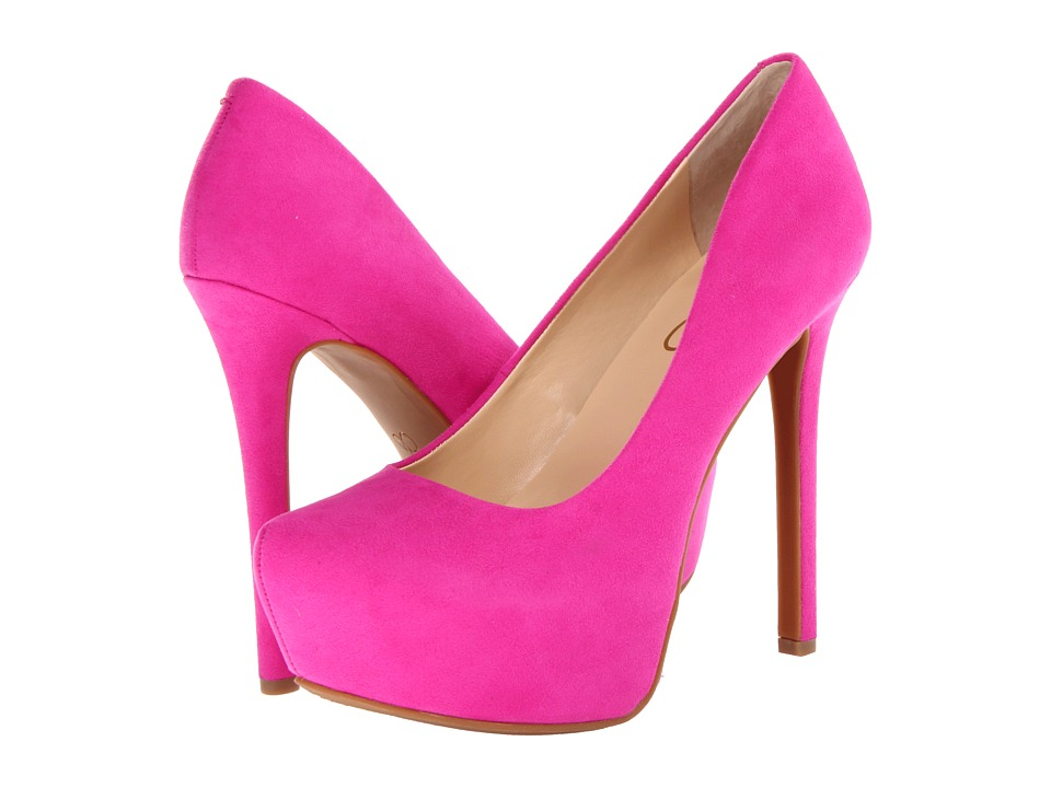 Jessica Simpson Jasmint (Hot Shot Pink) High Heels