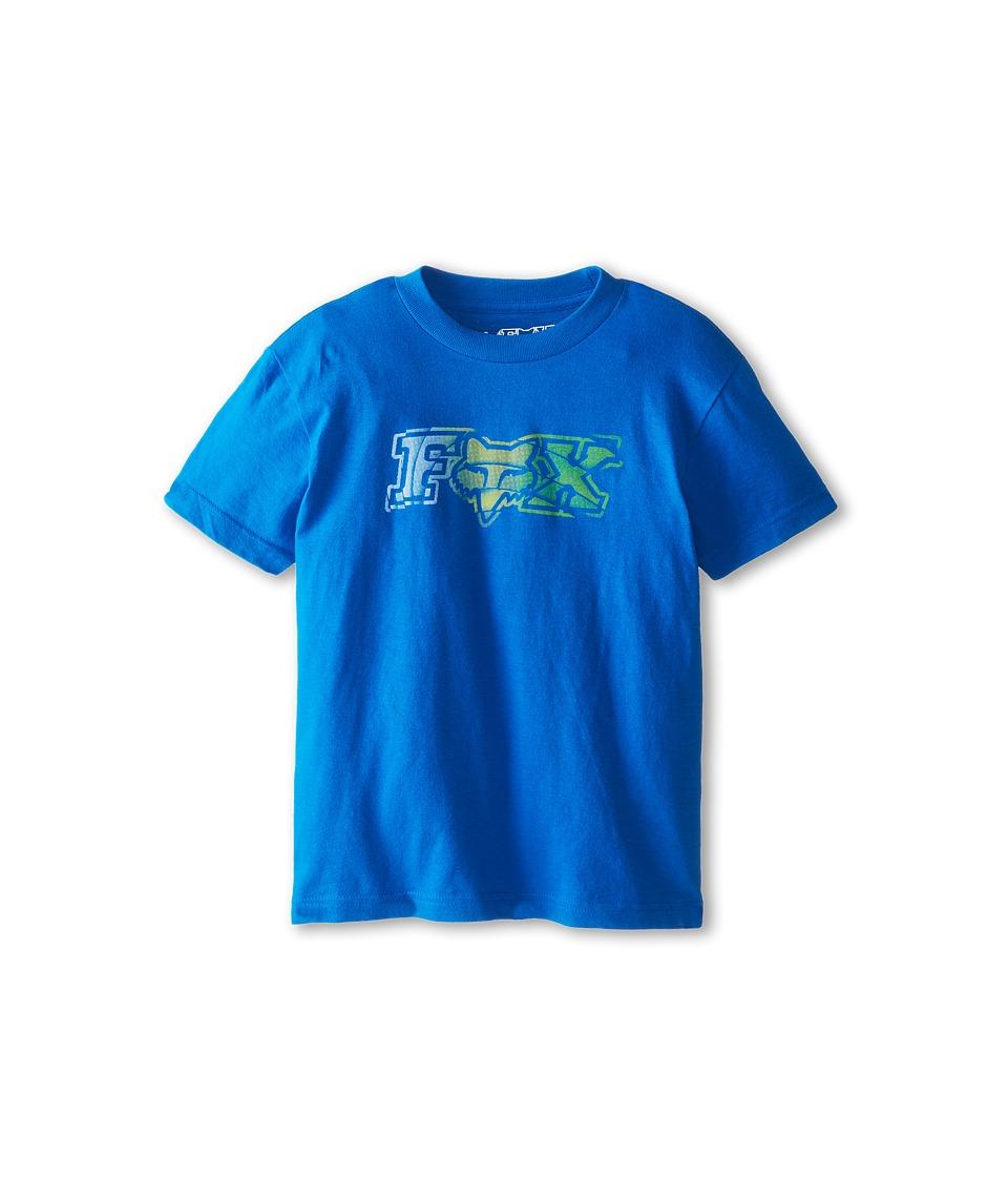 Fox Kids Crazed Tee Boys T Shirt (Blue)