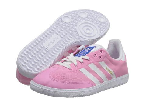 Adidas Originals Samba Breeze Athletic Shoes Children Tropic Bloom / White