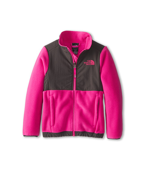 The North Face Kids - Denali Jacket (Little Kids/Big Kids) (R Azalea Pink/Graphite Grey/Graphite Grey) Girl's Coat