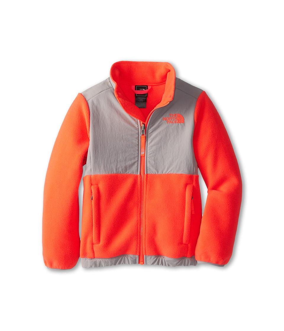 The North Face Kids - Denali Jacket (Little Kids/Big Kids) (R Rocket Red/Metallic Silver) Girl