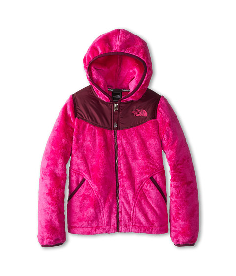 The North Face Kids - Oso Hoodie (Little Kids/Big Kids) (Azalea Pink/Parlour Purple) Girl's Sweatshirt